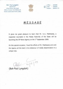 Paul Lyngdoh