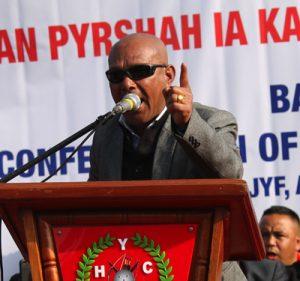 Mynta ka sngi pynbna ka BJP ban pyniakhun MP ia u Bah Sanbor Shullai na 1-Shillong